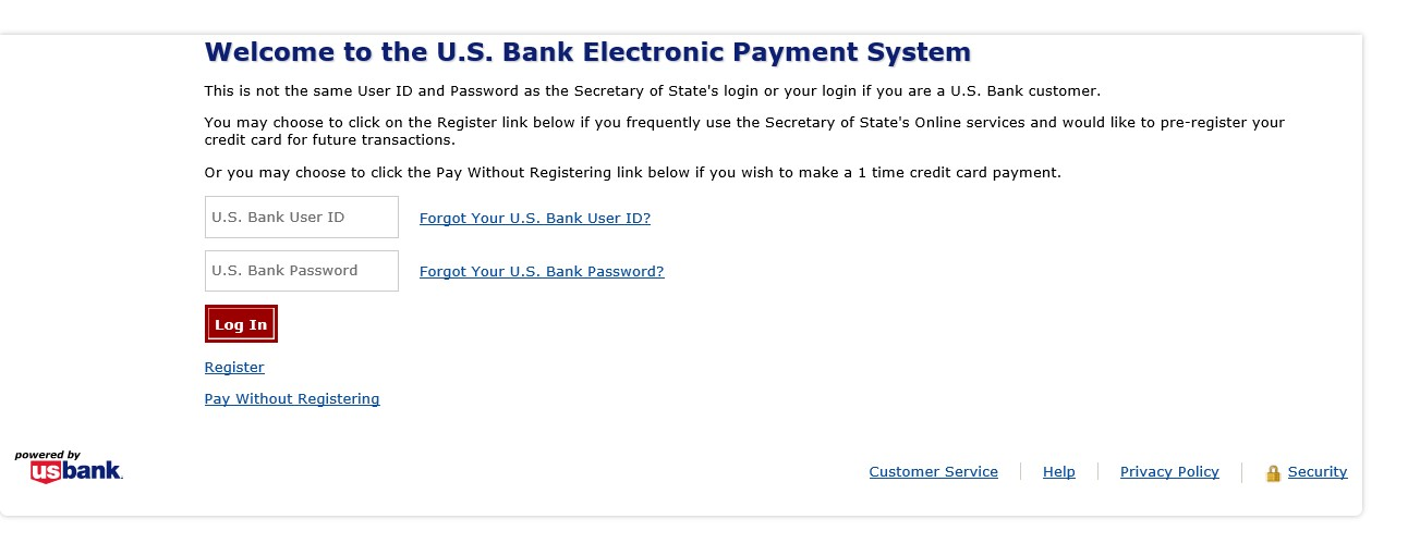 Minnesota Secretary Of State How To Make A Payment - Pay-to-the-order-of