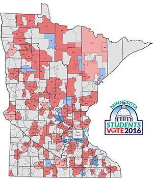 Minnesota Students Vote 2016 Mock Election Results