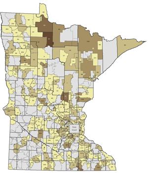 Map Of Johnson Votes