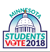 Students Vote 2018 Logo